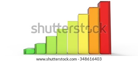 Bars and charts 04 - stock photo