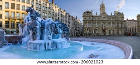 Bartholdi Fountain - stock photo