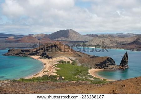 Bartolome Island, Galapagos - stock photo
