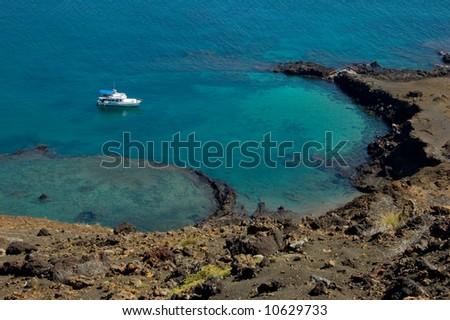 Bartolomeo island, Galapagos - stock photo