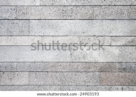 basalt texture on a rock wall background - stock photo
