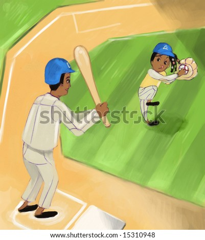 baseball (search the word nikos for more) - stock photo