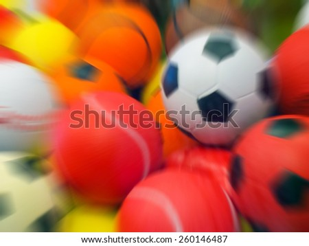 based background colored balls - stock photo