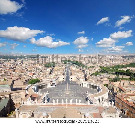 Basilica di San Pietro, Vatican, Rome, Italy  - stock photo