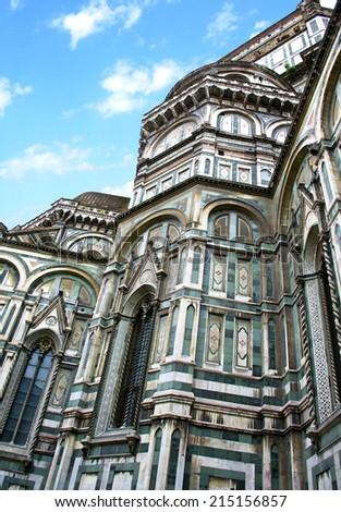 Basilica di Santa Maria del Fiore, Florence - Italy - stock photo