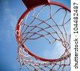 Basket for basketbal - stock photo