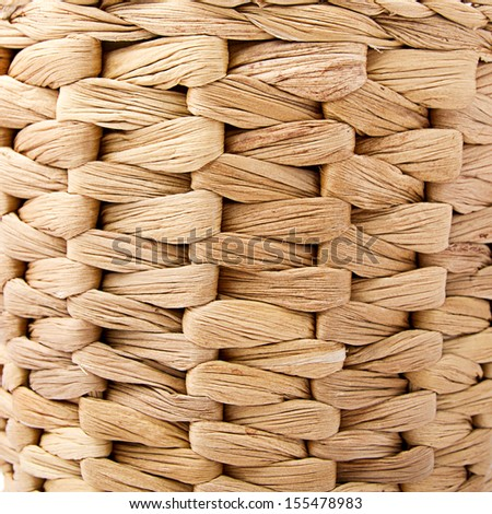 Basket texture or background - stock photo