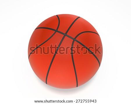 Basketball ball - stock photo