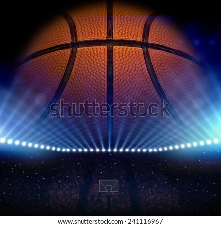 Basketball concept - stock photo