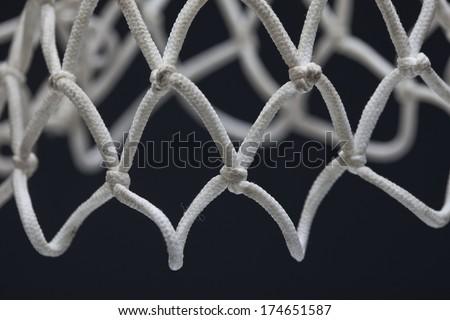 Basketball Net - stock photo