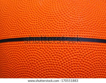 Basketball texture - stock photo