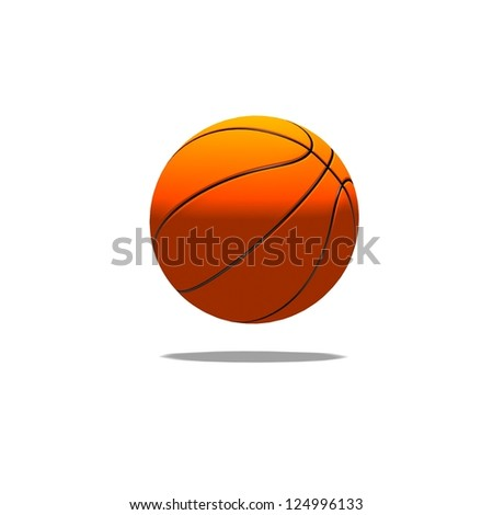 basketball the world favorite sport - stock photo