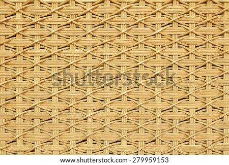 basketry wicker texture. - stock photo