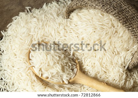 Basmati rice varieties - stock photo