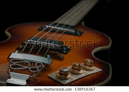 Bass with soft lighting - stock photo