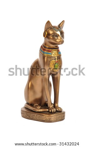 bastet - stock photo