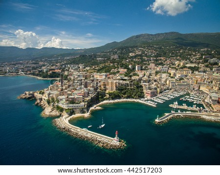 Bastia, Corsica - stock photo