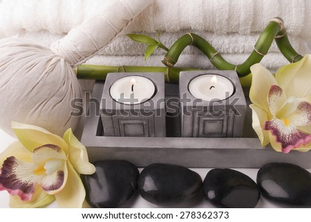 Bath accessories - stock photo