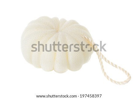 Bath sponge - stock photo