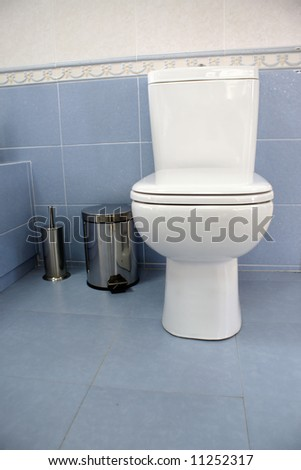 Bathroom detail - stock photo