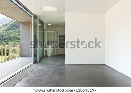 Bathroom of a modern hotel room - stock photo