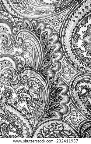 batik pattern - stock photo