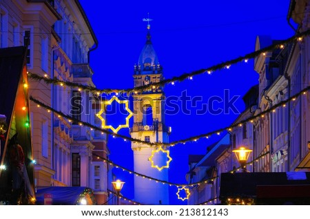 Bautzen christmas market  - stock photo