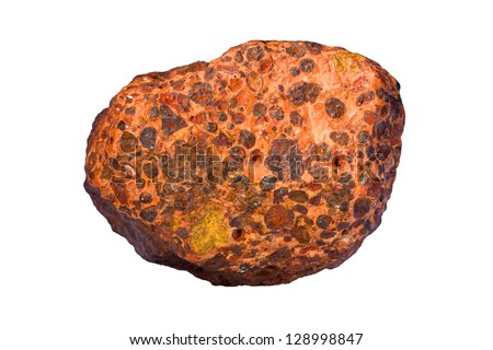 Bauxite (aluminum ore) - stock photo