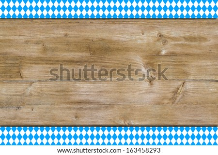 Bavarian background - stock photo