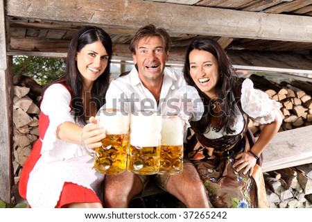 Bavarian Lifestyle - stock photo