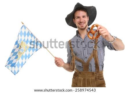 Bavarian Man - stock photo