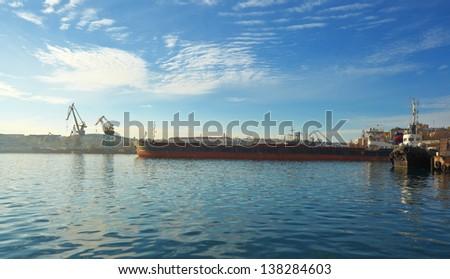bay in Sevastopol. Crimea. - stock photo