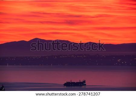 bay of Algiers - stock photo