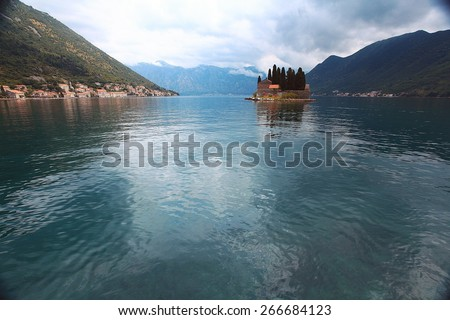 bay sea boat adventure tourism europe road - stock photo