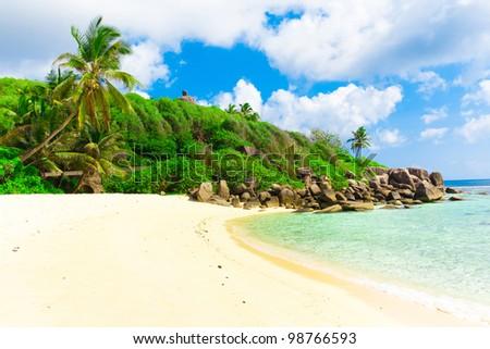 Bay Sea Tranquility - stock photo