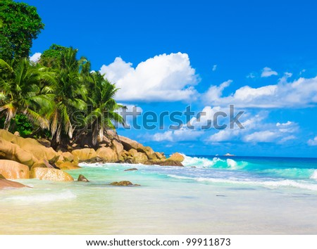 Bay Tranquility Landscape - stock photo