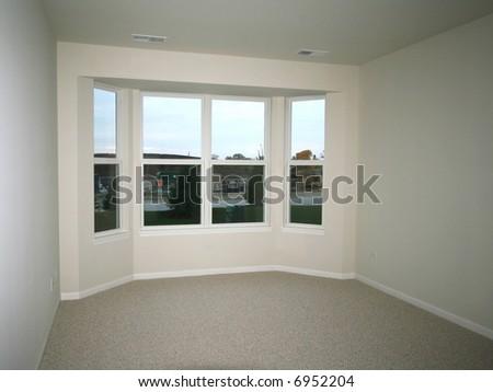 Bay window - stock photo