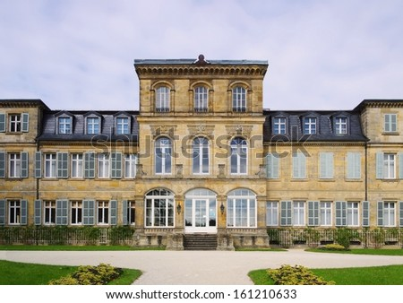 Bayreuth Palace Fantaisie  - stock photo