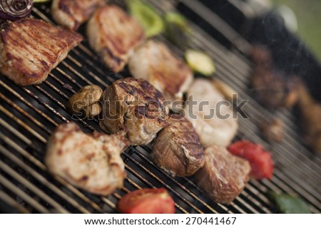 BBQ Grill - stock photo