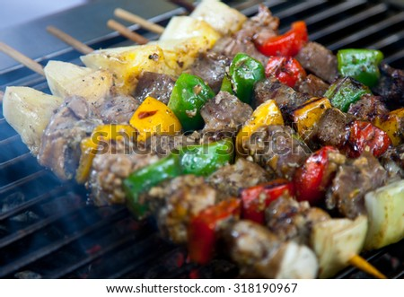 BBQ Grill - stock photo