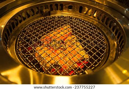 BBQ stove - stock photo