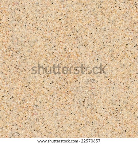 beach sand texture, seamless - stock photo