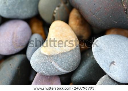 Beach Stone - stock photo