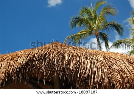Beach village 2 - stock photo