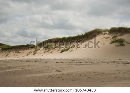 Beaches in Prince Edward Island, Canada. - stock photo