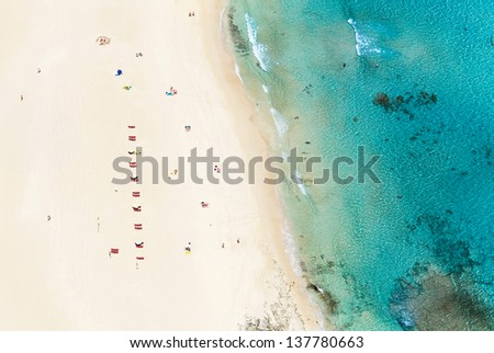 beachview - stock photo