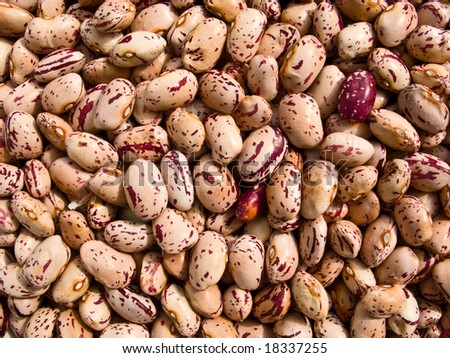 Beans texture - stock photo