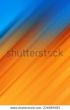 Beautiful abstract dynamic background, blurred parallel lines - stock photo
