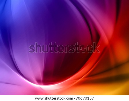 beautiful abstract elegant futuristic background - stock photo