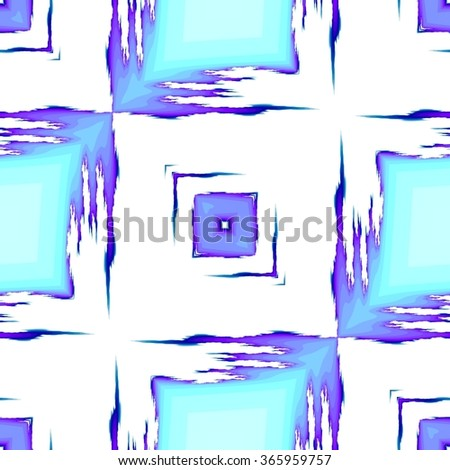 Beautiful abstract fractal background of pure bright colors - stock photo